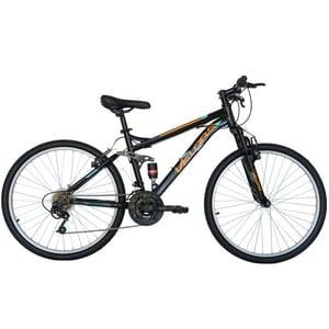 """Bicicleta Mountain Bike VELORS 2660A, 26"""", cadru otel, negru-portocaliu"""