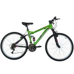 """Bicicleta Mountain Bike VELORS 2660A, 26"""", cadru otel, verde-negru"""