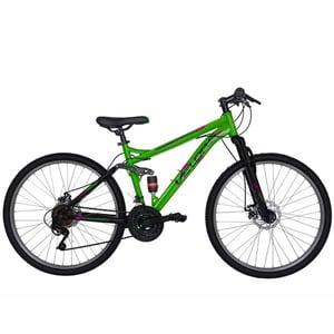 "Bicicleta Mountain Bike VELORS Energy V2660D, 26"", cadru otel, verde-negru"