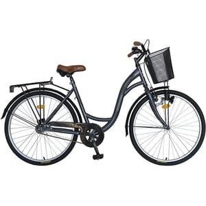 """Bicicleta City VELORS V2694AGM, 26"""", cadru otel, gri-mari"""
