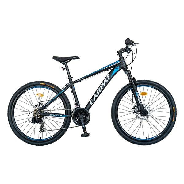 """Bicicleta MTB-HT CARPAT C2699A, 26"""", cadru aluminiu, negru-albastru"""