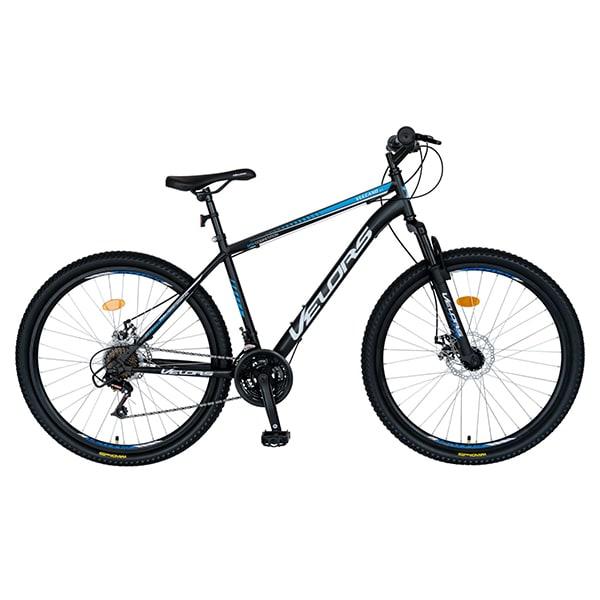 "Bicicleta MTB VELORS V2709A, 27.5"", otel, negru-albastru"