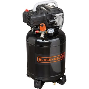 Compresor aer BLACK & DECKER BD 195/24V-NK, fara ulei, 24 litri, 1.5 CP, 10 Bar