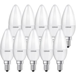 Set 10 becuri LED OSRAM B60, 7W, E14, 4000K