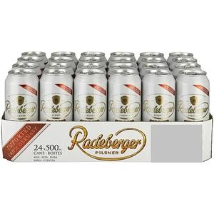 Bere blonda Radeberger Pilsner bax 0.5L x 24 cutii