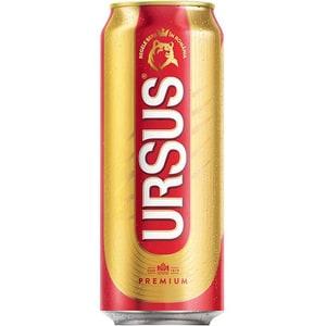 Bere blonda Ursus Premium bax 0.5L x 24 doze