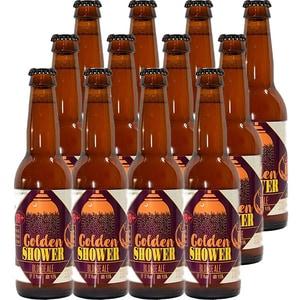 Bere artizanala Planbeer GoldenShower bax 0.33L x 12 sticle