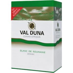 Vin alb demisec Oprisor Val Duna Blanc de Roumanie, 10L, Bag in Box