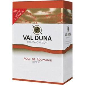Vin rose demisec Oprisor Val Duna Rose de Roumanie, 10L, Bag in Box