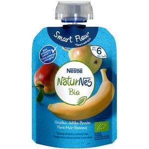 Piure NESTLE NaturNes Bio cu para, mar si banana 12428703, 6 luni+, 90g