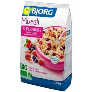 Musli superfructe BIO BJORG, 375g