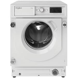 Masina de spalat rufe incorporabila cu uscator WHIRLPOOL BI WDWG 751482 EU N, 6th Sense, 7/5 kg, 1400rpm, Clasa E, alb