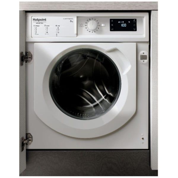 Masina de spalat rufe incorporabila HOTPOINT BI WMHG 81484 EU, 8 kg, 1400rpm, Clasa C, alb