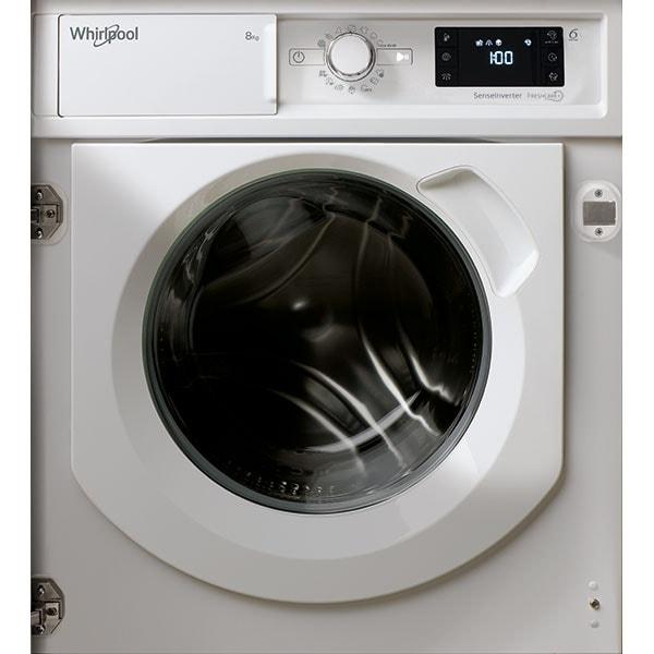 Masina de spalat rufe incorporabila WHIRLPOOL BI WMWG 81484E EU, 6th Sense, 8 kg, 1400rpm, Clasa C, alb