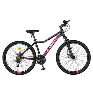 """Bicicleta MTB CARPAT C2652ANF, 26"""", cadru aluminiu, negru-fucsia"""