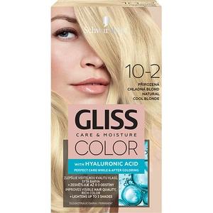 Vopsea de par SCHWARZKOPF Gliss Color, 10-2 Blond Rece Natural, 143ml
