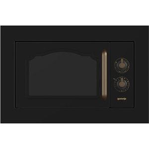 Cuptor cu microunde incorporabil GORENJE BM235CLB, 23 l, 800 W, Grill, negru