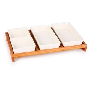 Set boluri pentru sos ZOKURA Z1110, 5 piese, ceramica