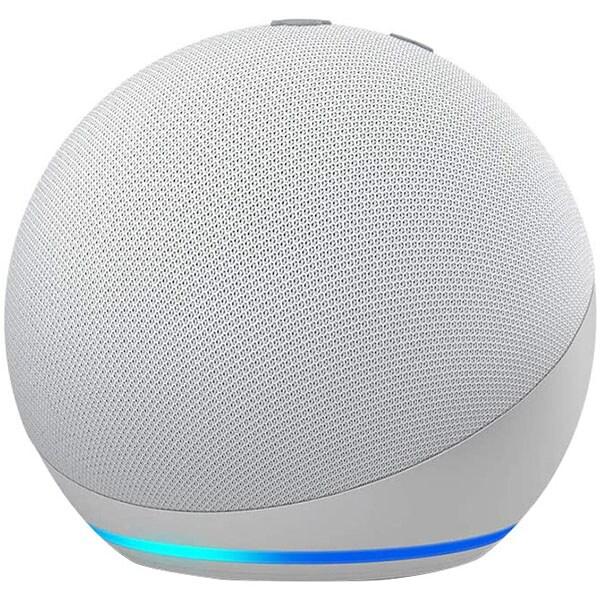 Boxa inteligenta AMAZON Echo Dot 4, Control Voce Alexa, Bluetooth, Wi-Fi, alb