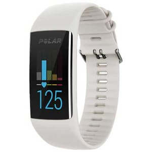 Bratara fitness POLAR A370, Android/iOS, Small, alb