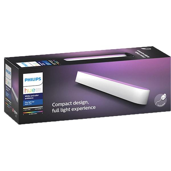 Lampa inteligenta PHILIPS Hue Play, lumina RGB, 6.6W, alb