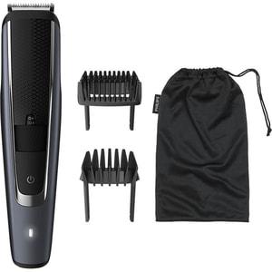 Aparat de tuns barba PHILIPS BT5502/15, acumulator, 90 min autonomie, negru-gri