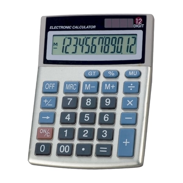 Calculator de birou MEMORIS Precious M12D, 12 cifre, gri