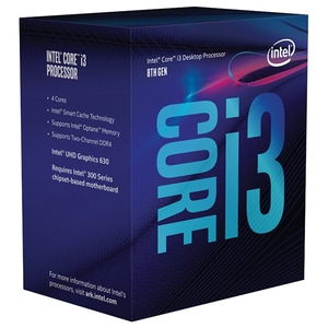 Procesor Intel Core i3-8100, 3.6GHz, Socket 1151, BX80684I38100