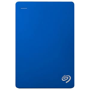 Hard Disk Drive portabil SEAGATE Backup Plus STDR5000202, 5TB, USB 3.0, albastru