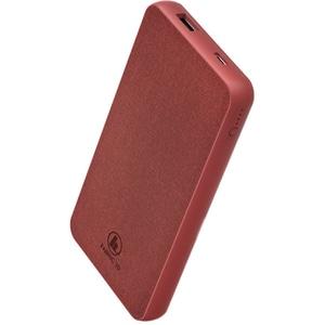 Baterie externa HAMA Fabric 10 187258, 10000mAh, 1xType C, 1xUSB, rosu