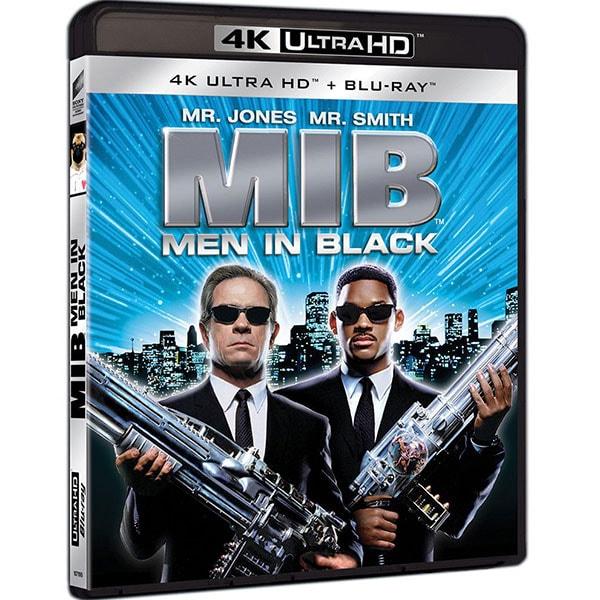 Barbati in negru 1 4K UHd + Blu-Ray