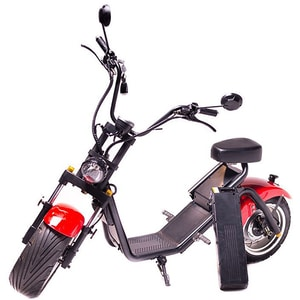 Moped electric FREEWHEEL MotoRo S1, 12 inch, rosu