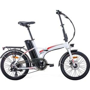 Bicicleta asistata electric pliabila MYRIA City Traveller MC3, 20 inch, negru-verde