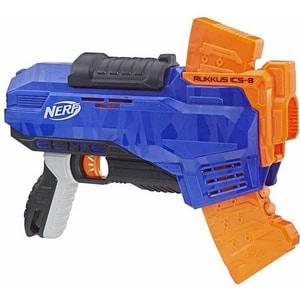 Blaster NERF N-Strike Elite Rukkus ICS 8 E2654, 8 ani+, multicolor