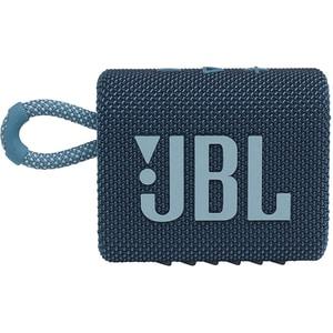 Boxa portabila JBL Go 3, Bluetooth, Waterproof, albastru