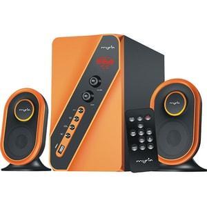 Boxe MYRIA MY8043OR, 2.1, 40W, Bluetooth, portocaliu-negru