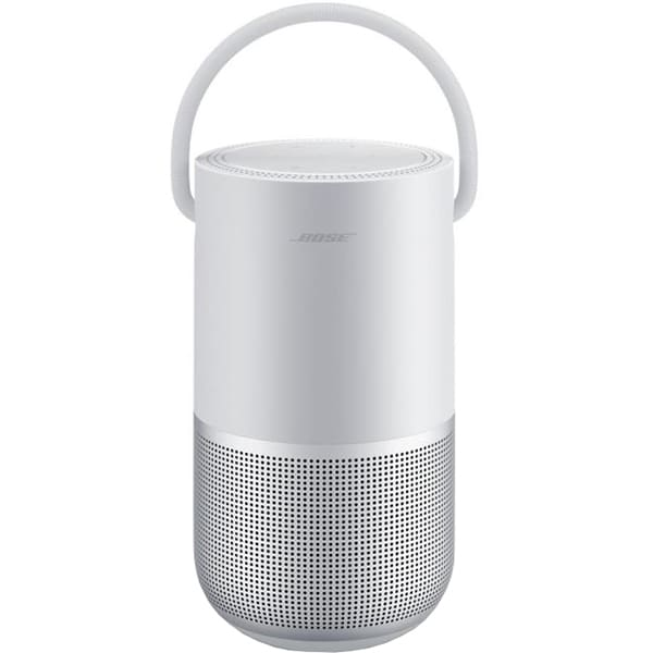 Boxa portabila BOSE Home Speaker Portable, Bluetooth, Wireless, Multi-Room, Sunet 360, argintiu