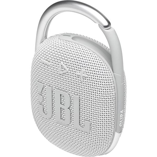 Boxa portabila JBL Clip 4, Bluetooth, Waterproof, alb