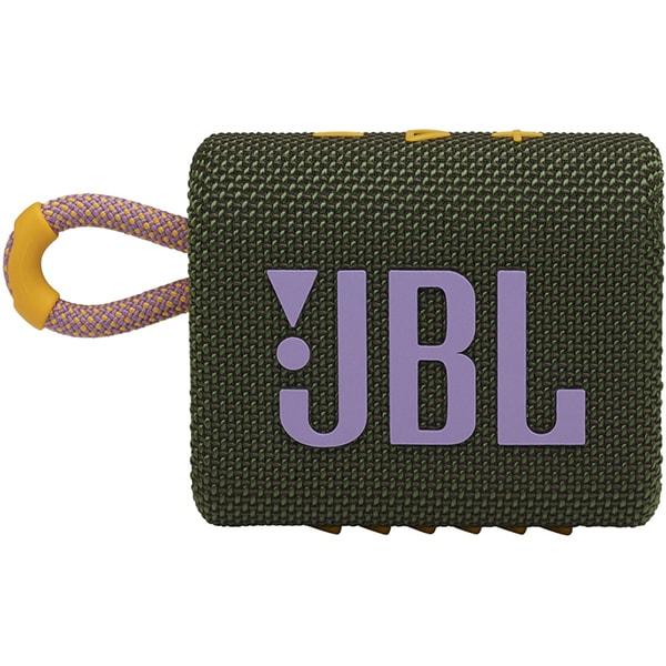 Boxa portabila JBL Go 3, Bluetooth, Waterproof, verde