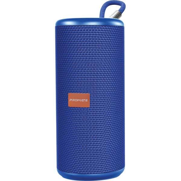 Boxa portabila PROMATE Pylon, Bluetooth, albastru