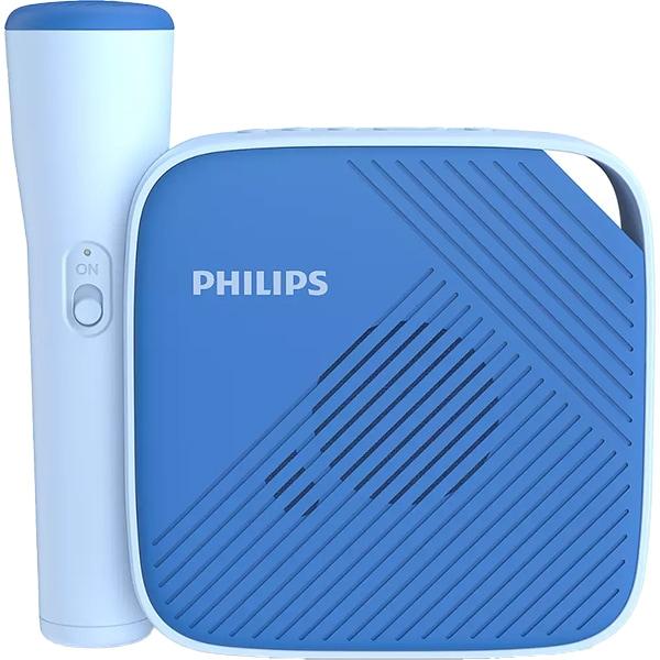 Boxa portabila pentru copii PHILIPS TAS4405N/00, Bluetooth, Microfon, Karaoke, albastru