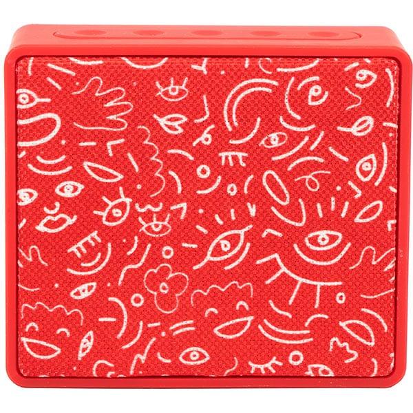 Boxa portabila HAMA Pocket HaHaHa Feel, Bluetooth, MicroSD, rosu
