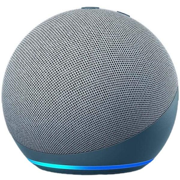 Boxa inteligenta AMAZON Echo Dot 4, Control Voce Alexa, Bluetooth, Wi-Fi, albastru