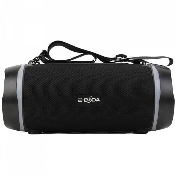 Boxa portabila E-BODA The Vibe 600, 24W, Bluetooth, USB, Radio FM, Waterproof, negru