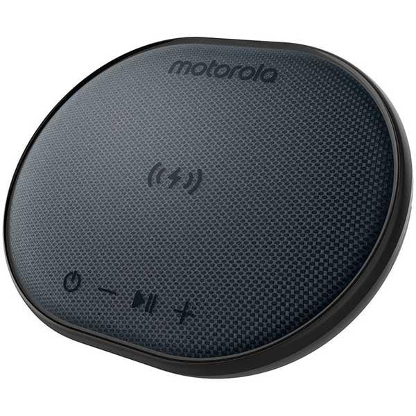 Boxa portabila + Incarcator wireless MOTOROLA Sonic Sub 500, Bluetooth, Waterproof, negru
