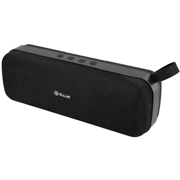 Boxa portabila TELLUR Loop, Bluetooth, MicroSD, negru