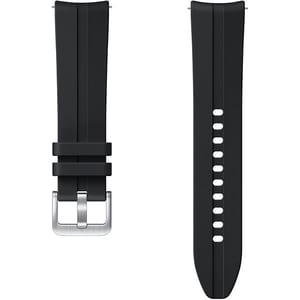 Bratara Ridge Sport Band pentru SAMSUNG Galaxy Watch3, ET-SFR85SBEGEU, Small-Medium, silicon, negru