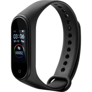 Bratara fitness CANYON CNE-SB01BN, Android/iOS, silicon, negru