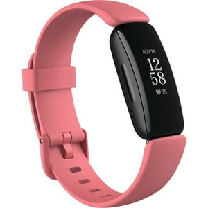 Bratara fitness FITBIT Inspire 2, Android/iOS, silicon, Desert Rose