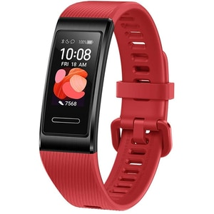Bratara fitness HUAWEI Band 4 Pro, Android/iOS, silicon, Cinnabar Red